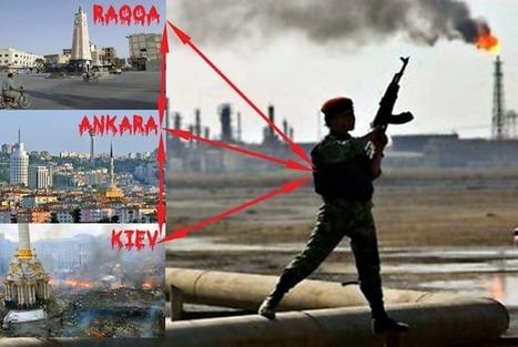 Blood oil and the Raqqa-Ankara-Kiev axis | Global politics | Scoop.it