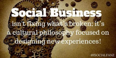 Create New Customer Experiences to become a Social Business | LinkedIn | SocBiz Employee Engagement | Scoop.it