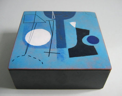 Harold Balazs Enamel Box | whats been spotted on etsy today? | Scoop.it