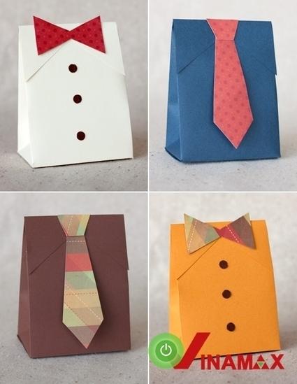 Gói quà hình chiếc áo cà vạt cực độc đáo giành tặng thầy cô nhân ngày 20-11 sắp tới   Qùa tặng thầy cô 20-11   Scoop.it