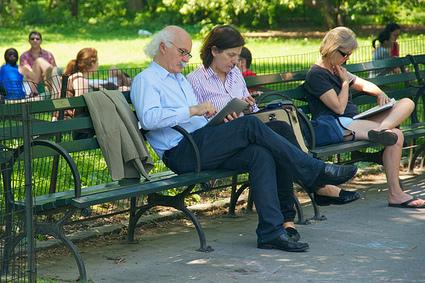 Ces baby boomers qui adoptent des lecteurs ebook | Bibliothèque et Techno | Scoop.it