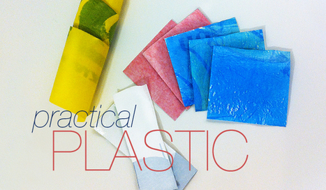 HOW TO fuse plastic bags   Design Technology   Scoop.it