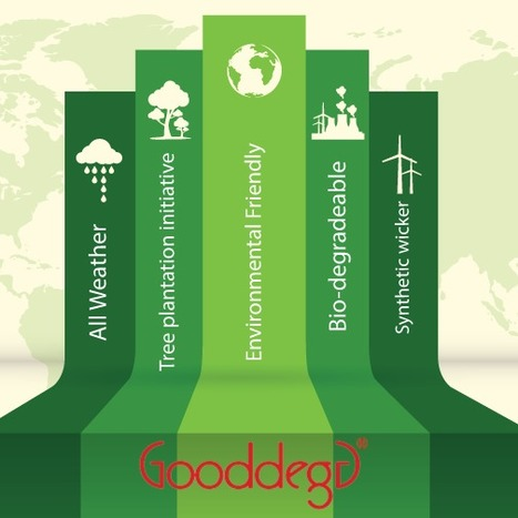 Gooddegg, an Eco-Friendly E-commerce Platform | Home Decor (Wicker Furniture) | Scoop.it