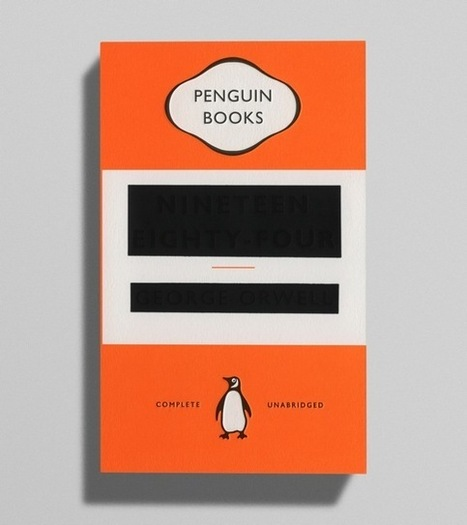 Creative Review - Orwell, covered up | Matmi Staff finds... | Scoop.it