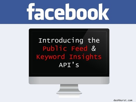 Facebook Launches Twitter-Like, Real-Time Feed API and Keyword Insights | Awesome ReScoops | Scoop.it