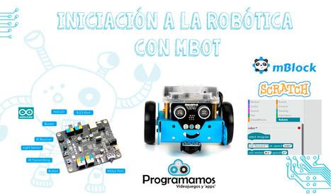 Mbot, un robot para iniciarse en la robótica educativa | robòtica i programació | Scoop.it
