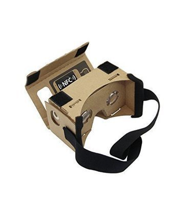 Linkcool Cardboard 3d Vr Virtual Reality DIY 3D Glasses for Smartphone with NFC and Headband - Connect and Be | Nothing But News | Scoop.it