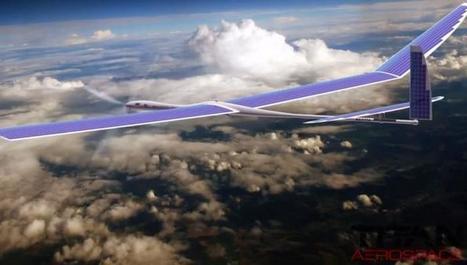 Skybender : le projet de réseau 5G de Google à partir de drones solaires | Presse-Citron | La technologie au collège | Scoop.it