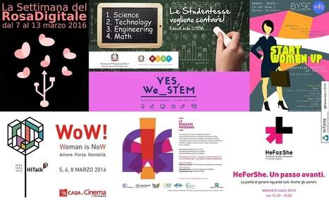 Innovazione e digitale. Gli eventi per la Festa della donna | InTime - Social Media Magazine | Scoop.it