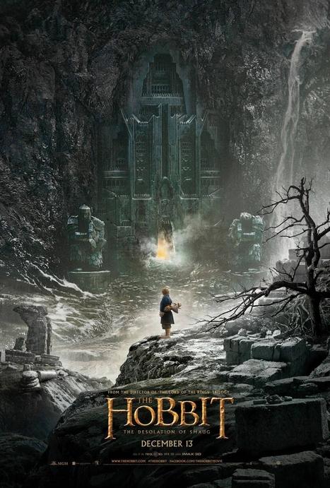 Le Hobbit : L'affiche de 'La Désolation de Smaug' dévoilée - La Photo   Insolite, Weird News   Scoop.it