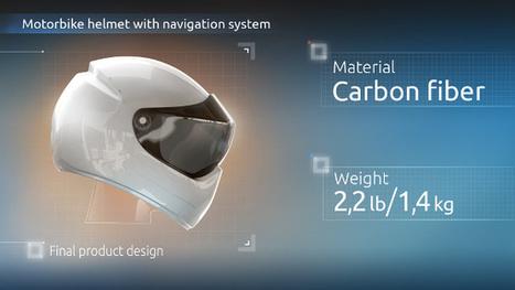 Livemap reçoit 300K$ pour son casque de moto connecté | Hightech, domotique, robotique et objets connectés sur le Net | Scoop.it