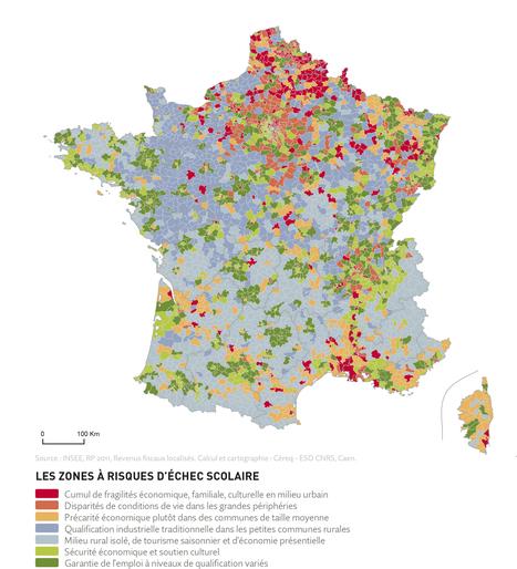 Atlas des risques sociaux d'échec scolaire | ACTUWEB - Onisep Auvergne Rhône-Alpes - site de Grenoble | Scoop.it