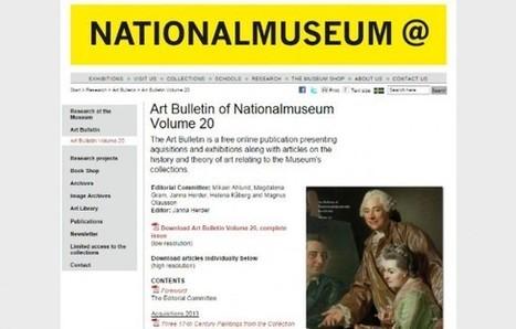 IL Y A 1 AN .... Le Nationalmuseum de Stockholm lance une revue numérique distribuée gratuitement et exclusivement en ligne   MuséoPat   Scoop.it
