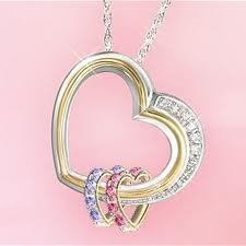 Heart shaped necklace: Trendy fashion jewelry   silver tone jewelry   Scoop.it