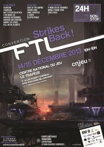 FTL 2013, la convention ludique contre-attaque | Monde Ludique | Scoop.it