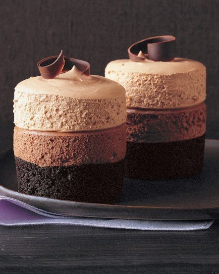 Triple-Chocolate Mousse Cake | recipes | Scoop.it