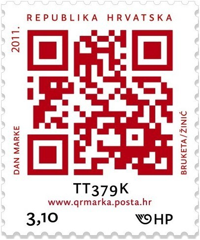 Novel QR Code Postage Stamp | Culture(s) transmedia | Scoop.it
