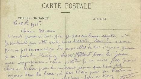 Histoires et mémoires de la Grande Guerre à travers les cartes postales de poilus douessins (Maine-et-Loire) | Centenaire.org | Nos Racines | Scoop.it