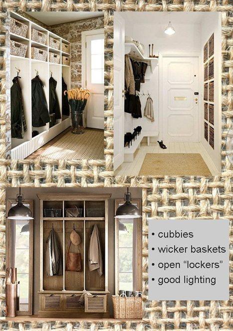 12 Tips for Mudroom Organization   Lighting & Interior Design Ideas Blog   Interior Design Trends & Tips   Scoop.it