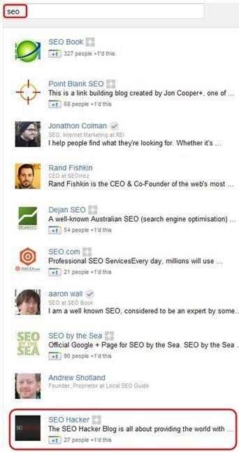 Google Plus Optimization | Social Knowledge | Scoop.it