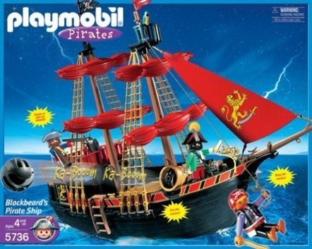 Why I Love Our Playmobil Pirate Ship | The Most Wanted Toys | Scoop.it