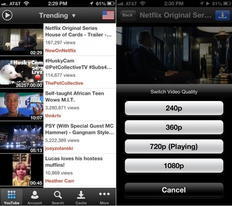 The Third-Party YouTube Client, McTube, Advances Forward With New Quality | From the Apple Orchard | Scoop.it