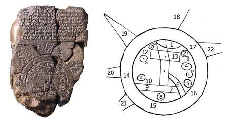 Mappa Mundi Babilonese: la più antica Mappa della Storia ha 2.600 anni | mappe storiche | Scoop.it