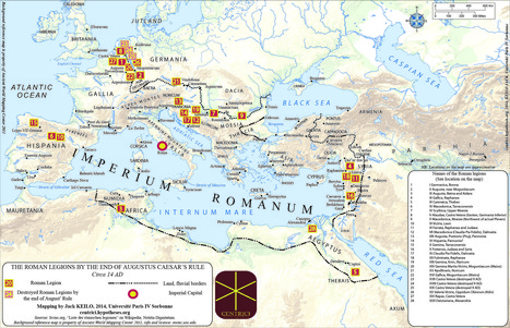 ROMAN MILITARY DEPLOYMENT | Mundo Clásico | Scoop.it