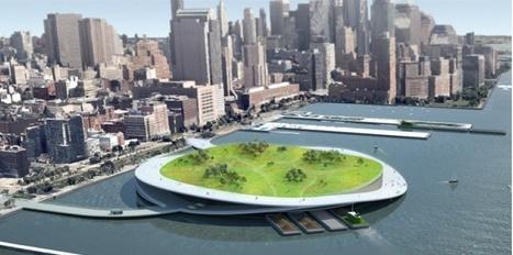 Des espaces verts flottants à New York | pour thp | Scoop.it