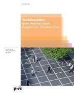 Sustainability goes mainstream: Insights into investor views   climatefuture   Scoop.it
