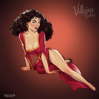 These 9 Disney Villains As Pinup Models Are Wickedly Enticing   Vloasis sex corner   Scoop.it