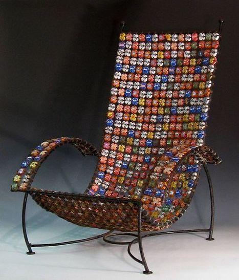Furniture~Chairs~Wood, Metal, Plastic & Other | Creatief Hergebruik | Scoop.it