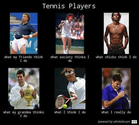 Tennis Players | What I really do | Scoop.it