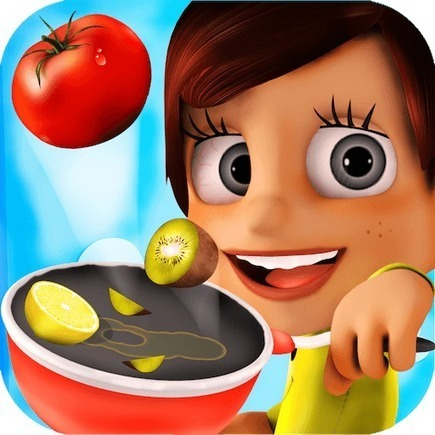 Free Android Game: Kids Kitchen - Download The Best Cooking Game for your Children | Laura Kelly | Scoop.it