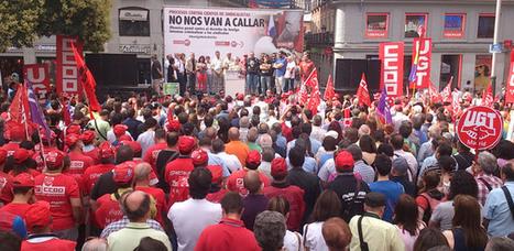 Espagne : Face à la répression antisyndicale | Echos syndicaux | Scoop.it