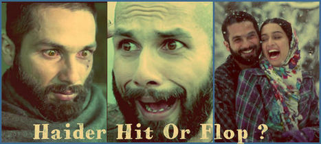 Haider Box Office Collection, Earning, Business, Hit or Flop | Fashion | Scoop.it