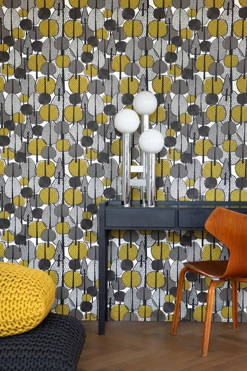 ferm living habille nos murs tissu d 39 ameublem. Black Bedroom Furniture Sets. Home Design Ideas