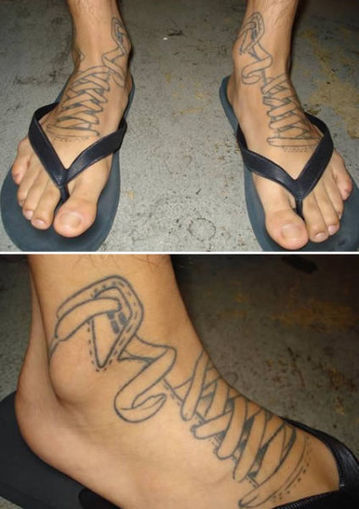 Random Foot Pain because of Crazy Tattoos   eFootAndAnkle   eFootandankle   Scoop.it