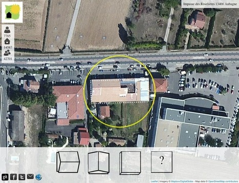 OpenSolarMap : crowdsourcing roof orientation... | Crowd-data & Content | Scoop.it