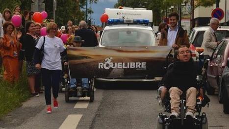 Lomme: Jean-Baptiste Gave, en route pour son tour de France en fauteuil   Humanicité   Scoop.it