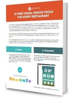 eBook: 10 Free Visual Design Tools for Every Restaurant | SocialMediaRestaurants.com | Scoop.it