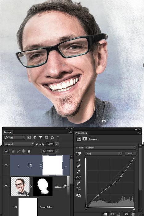 How to Create a Photo Caricature in Adobe Photoshop - Tuts+ Design & Illustration Tutorial | Photoshop Tutorials | Scoop.it