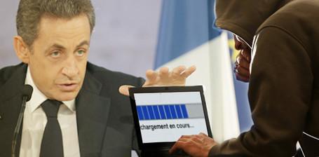 Pourquoi Sarkozy fait d'Hadopi un enjeu de la présidentielle - Médias / Net - Télérama.fr | BiblioLivre | Scoop.it