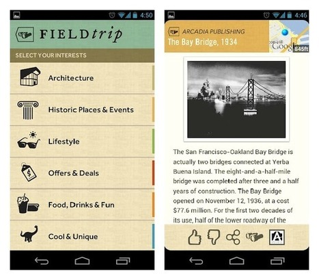Google's New App Will Take You on a Field Trip | It's Show Prep for Radio | Scoop.it