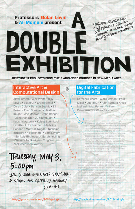 A Double-Exhibition of Interactive, Computational, and Digitally Fabricated Arts   Art, Technology, Innovation   Scoop.it
