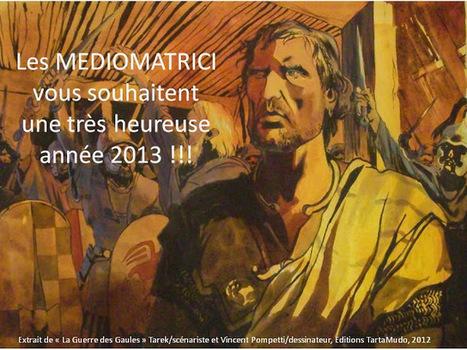 La guerre des Gaules: Les voeux des Mediomatrici   La Guerre des Gaules en BD   Scoop.it