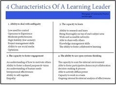 Educational Technology and Mobile Learning: The 28 Features of A Leading Learner | Cool School Ideas | Scoop.it