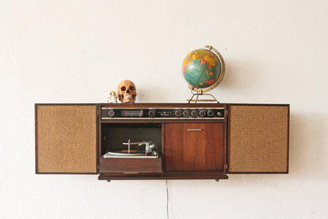 Record Player Cabinet | Kitsch | Scoop.it