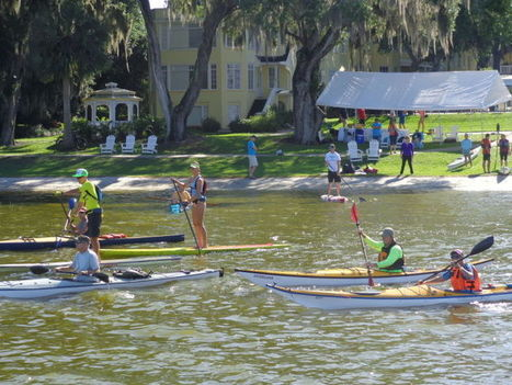 Despite rain, Paddle Fest considered a success - Daily Commercial | Silent Sports | Scoop.it