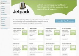 Le plugin Wordpress à installer sur votre blog c'est Jetpack | Froggy'Net et le Web 2.0 | Stretching our comfort zone | Scoop.it